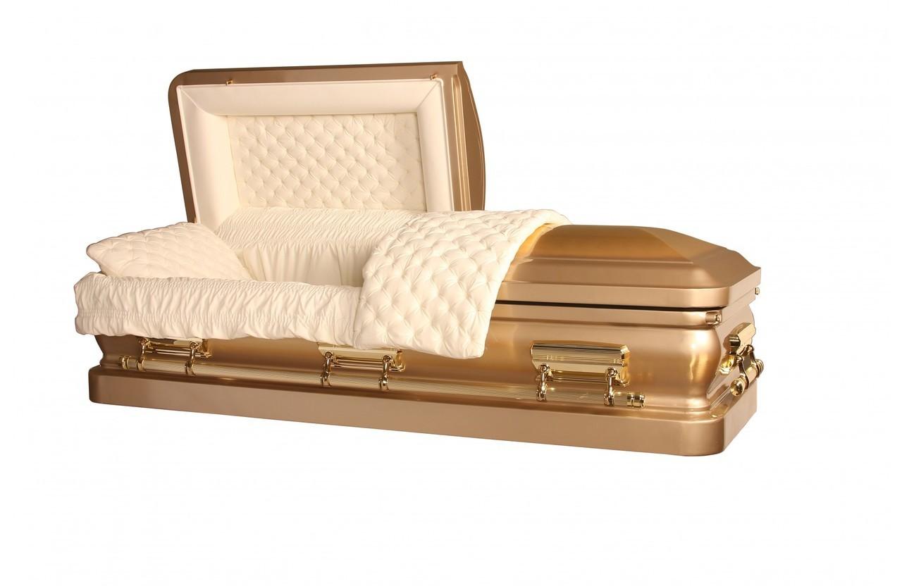 caixão de ouro