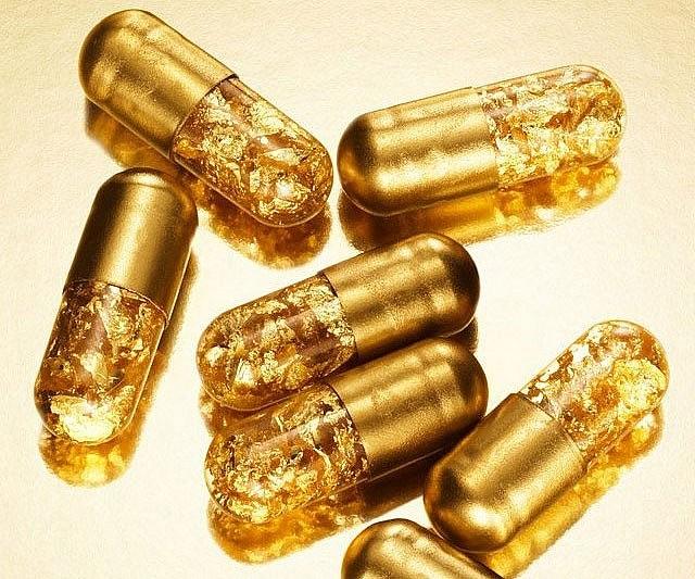 pilulas de ouro