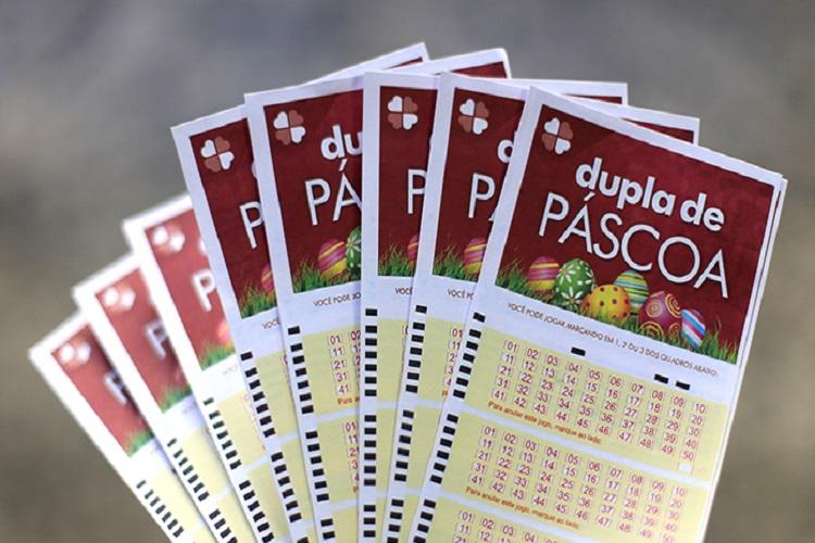 Dupla de Páscoa: loteria pode pagar R$ 24 MILHÕES